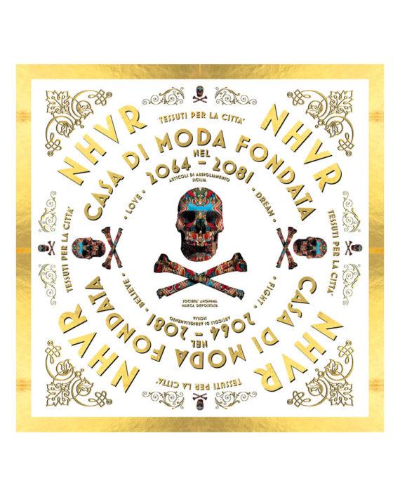 Nhvr-Skull-Foulard-White