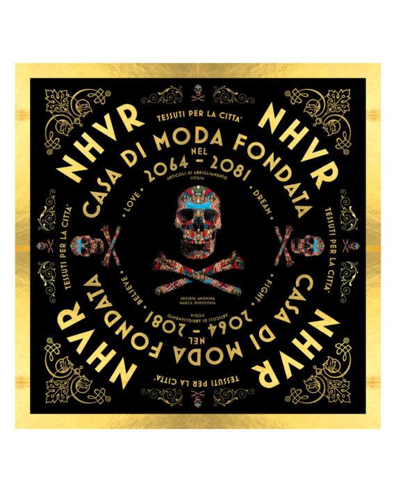 Nhvr-Skull-Foulard-Black